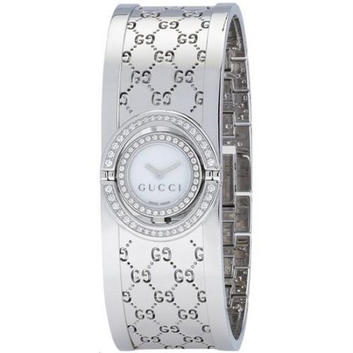 GUCCI Twirl 72 Diamond Ladies Watch YA112512